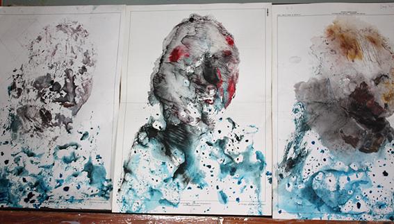 Rastres i rostres gravats