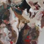 Pits i altres al·legories - Acrilico sobre cartón. 29,7×42 cm