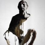 Homo en blanc - Acrilico sobre tela. 100×70 cm
